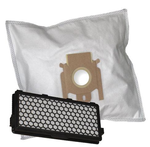 40 Staubsaugerbeutel 2 Hepafilter  geeignet für Miele S 8730 Special